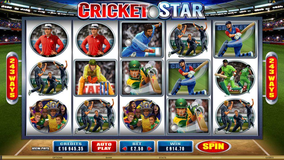 Cricket Star Slot