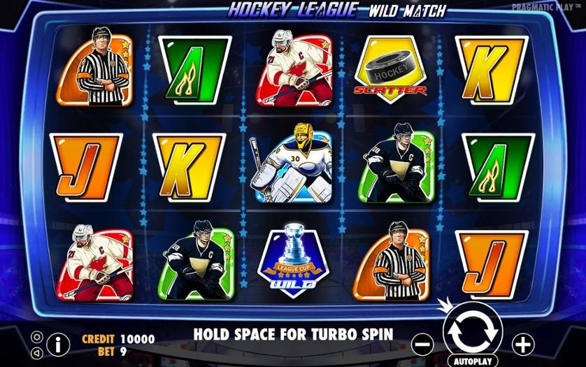 Hockey League Slot